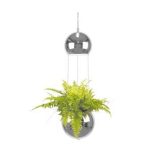 Závěsné svítidlo v barvě chromu GlobenLighting Mini Planter