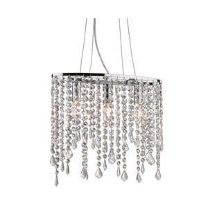 Stropní světlo Evergreen Lights Chandelier Chrome