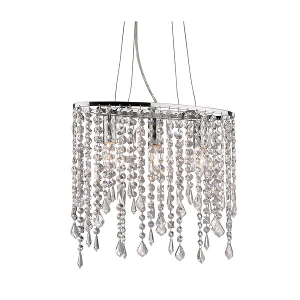 Lustră Evergreen Lights Chandelier Chrome