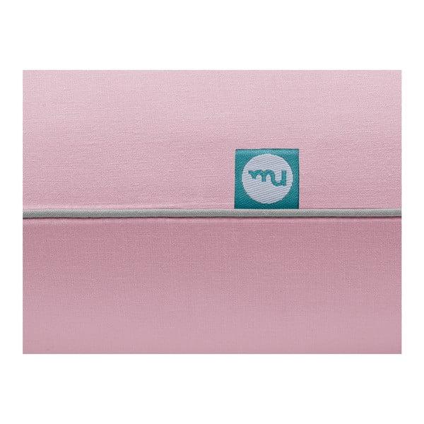 Lenjerie de pat Mumla, 140 x 200 cm, roz-gri