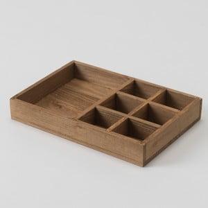 Úložný box z jedlového dřeva Compactor Vintage, šířka20cm