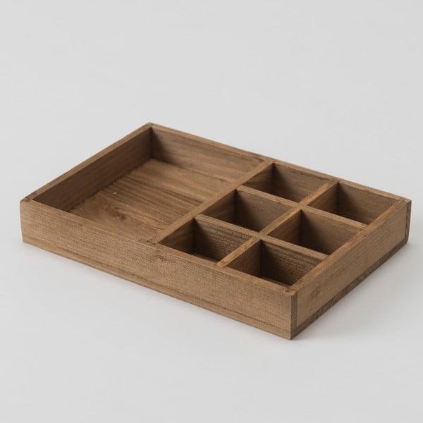 Dřevěný box Compactor Vintage Box, 20x14 cm