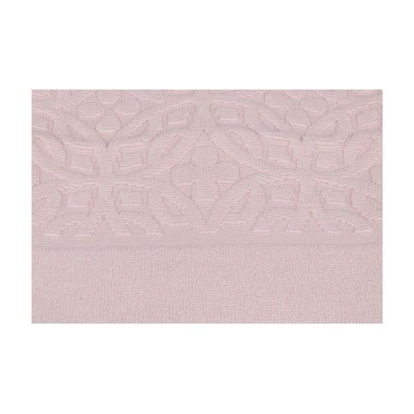 Růžová koupelnová předložka Summer