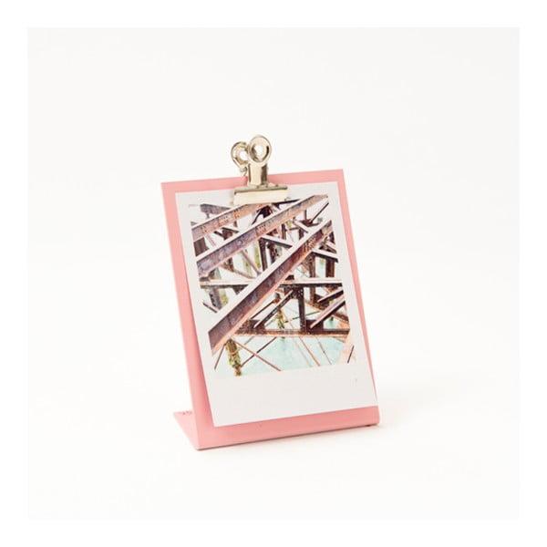 Růžový rámeček na fotku Clipboard Small