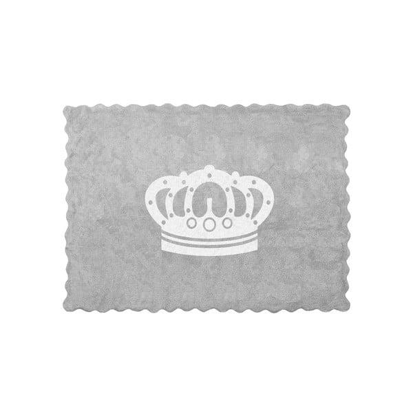 Koberec Corona 160x120 cm, šedý