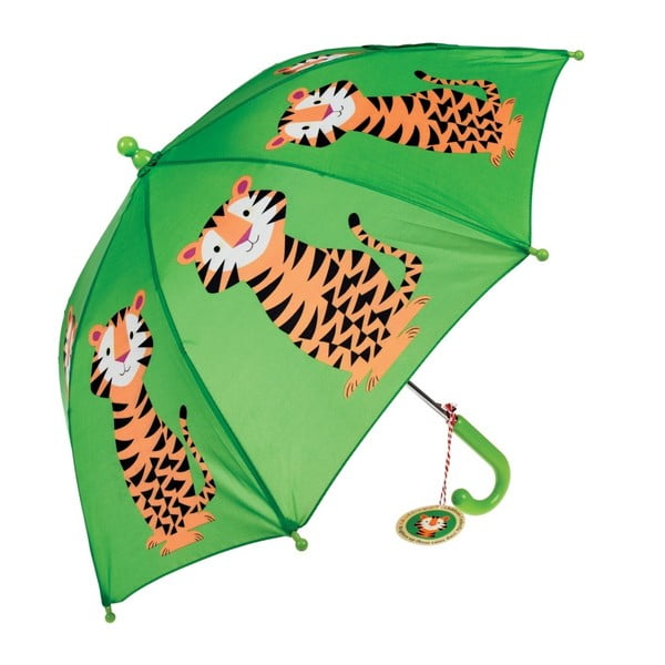 Detský dáždnik Rex London Jim The Tiger, ⌀ 64 cm