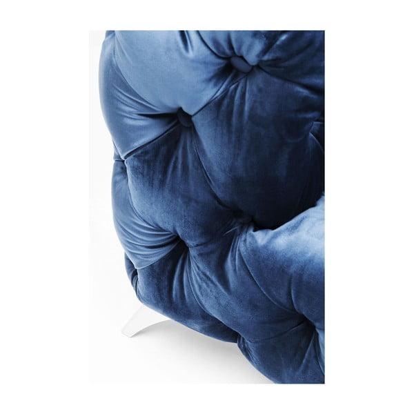 Modrá dvojmístná pohovka Kare Design Look Royal
