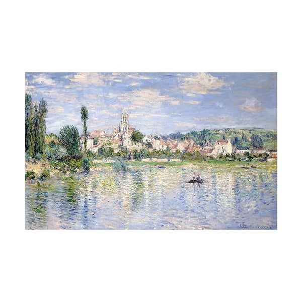 Obraz Claude Monet - Vétheuil in Summer, 80x50 cm