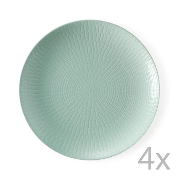 Sada 4 dezertních talířů Granaglie Eau, 21 cm