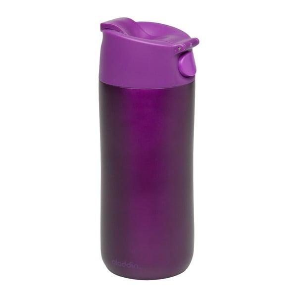 Nerez termohrnek Flip & Sip 350 ml, fialový