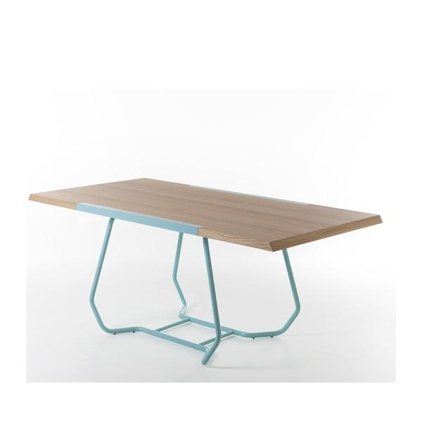Jídelní stůl Duale, tyrkysový
