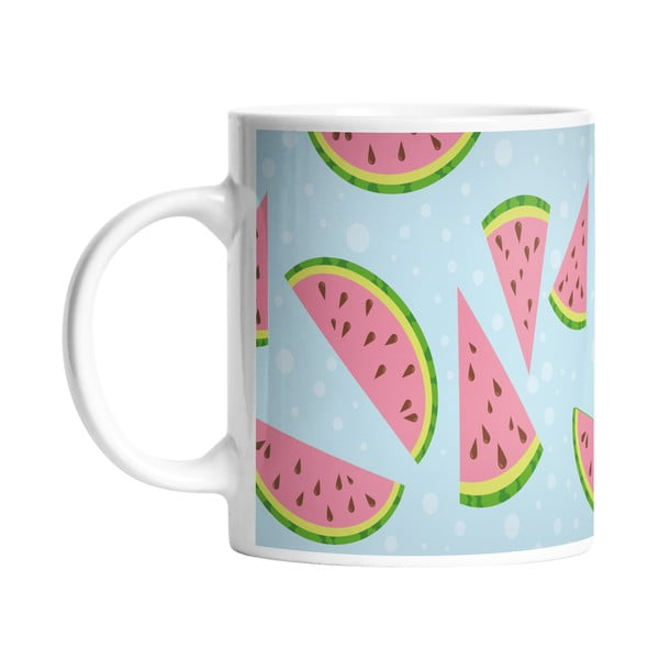 Keramický hrnek Yummy Watermelon, 330 ml