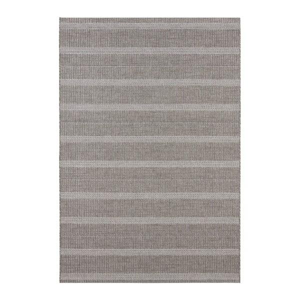 Šedý koberec vhodný i na ven Elle Decor Brave Laon, 80 x 150 cm
