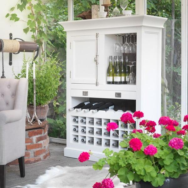 Bílá stěna Canett Skagen Wine, 1 zásuvka