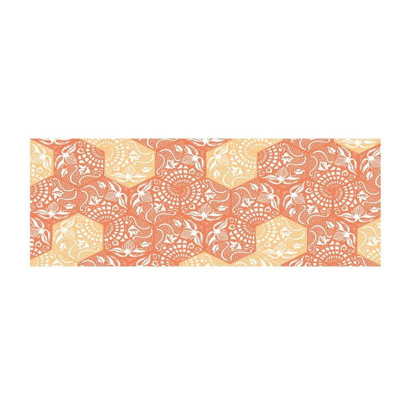 Vinylový koberec Cocina Paseo Naranja, 50x140 cm