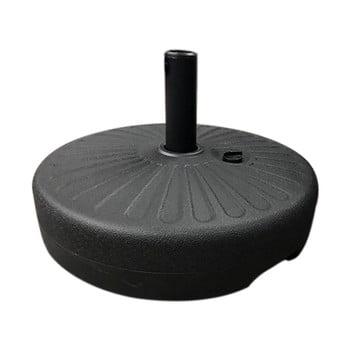 Suport cu apă pentru fixare umbrelă de soare Timpana, negru imagine