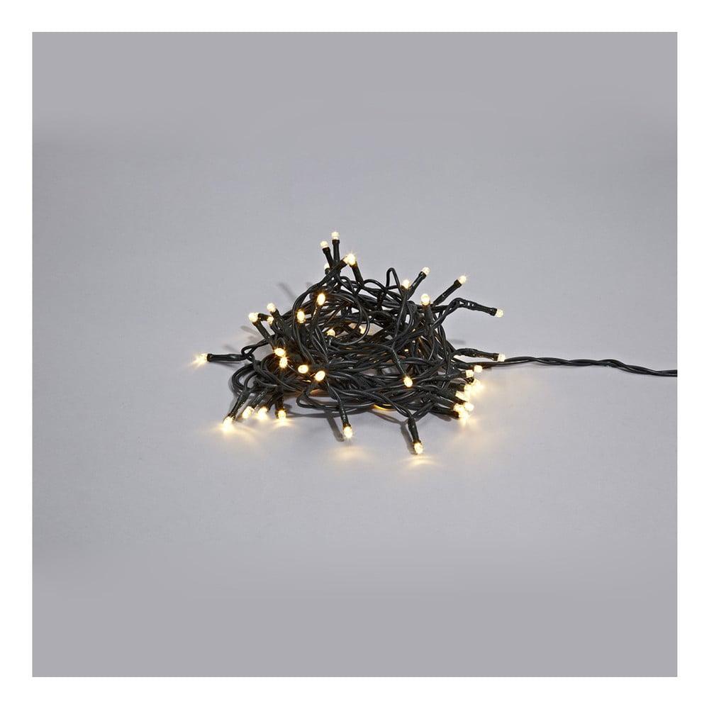 Černý svítící LED řetěz Markslöjd Sken Multi Lungo, 240 světýlek
