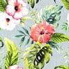 Povlečení  Ferns Pink, 240x220 cm