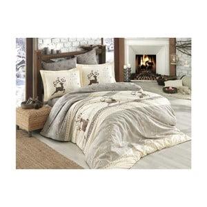 Lenjerie de pat cu cearșaf  Ludovico, 200 x 220 cm