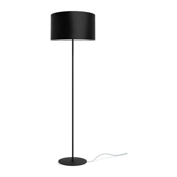 Černá volně stojící lampa Sotto Luce MIKA Elementary L 1F