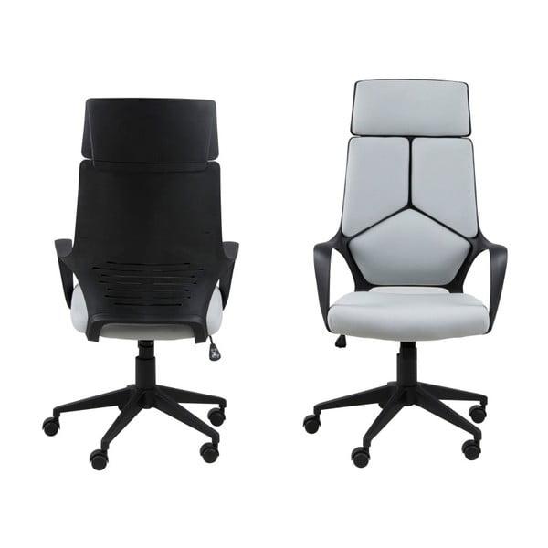 Jasnoszary fotel biurowy Actona Dubnium