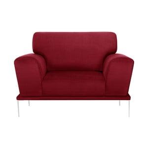 Červené křeslo L'Officiel Interiors Kendall