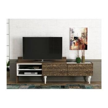 Comodă TV în decor de lemn de nuc Lenti de la Tera Home