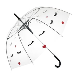 Deštník Blooms of London Face Straight Transparent