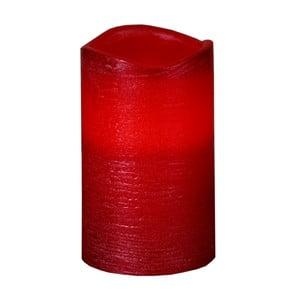 Červená LED svíčka Best Season Presse M