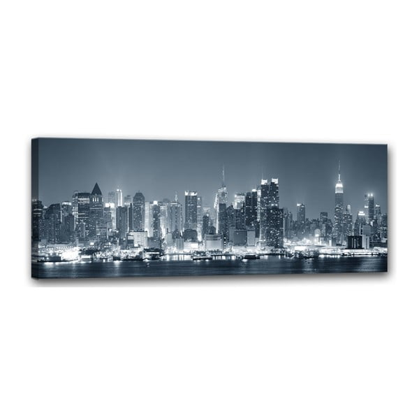 Obraz Styler Canvas Manhattan, 60 x 150 cm