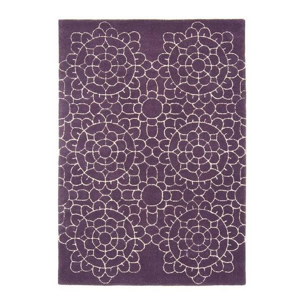 Koberec Crochet Purple 120x170 cm