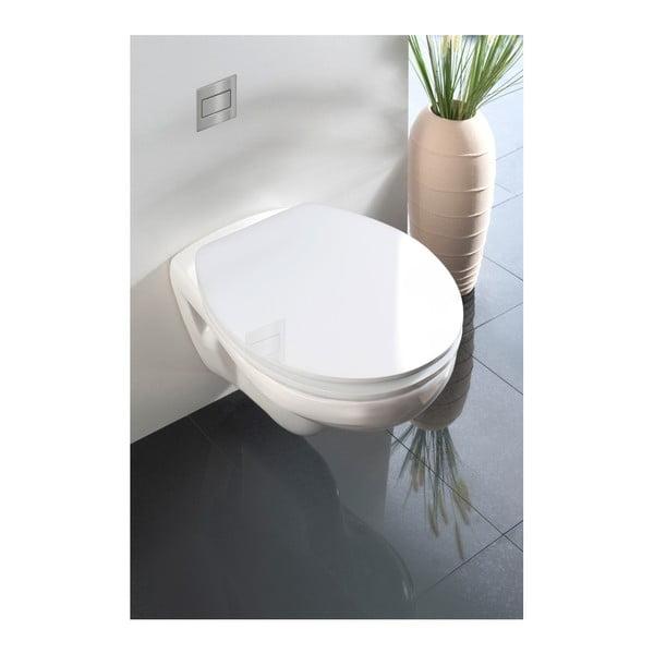 Classic fehér WC-ülőke, 45 x 38,8 cm - Wenko