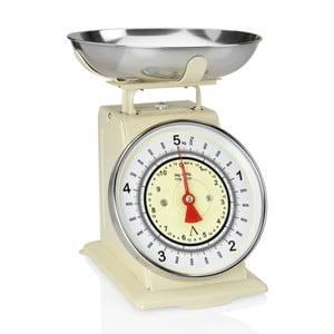 Béžová kuchyňská váha Andrea House Scale, 5 kg