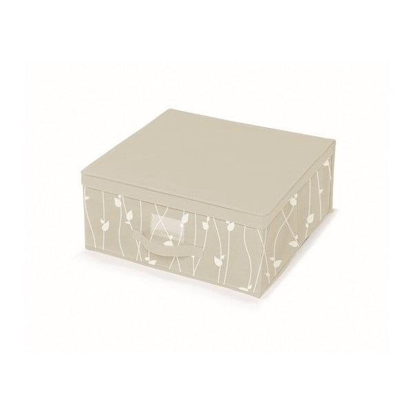 Béžový úložný box Cosatto Leaves, šířka45cm