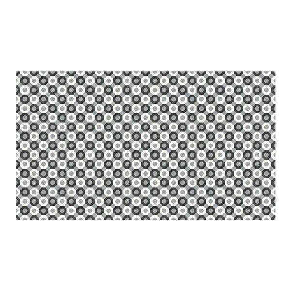Vinylový koberec Dalia Grey, 52x240 cm