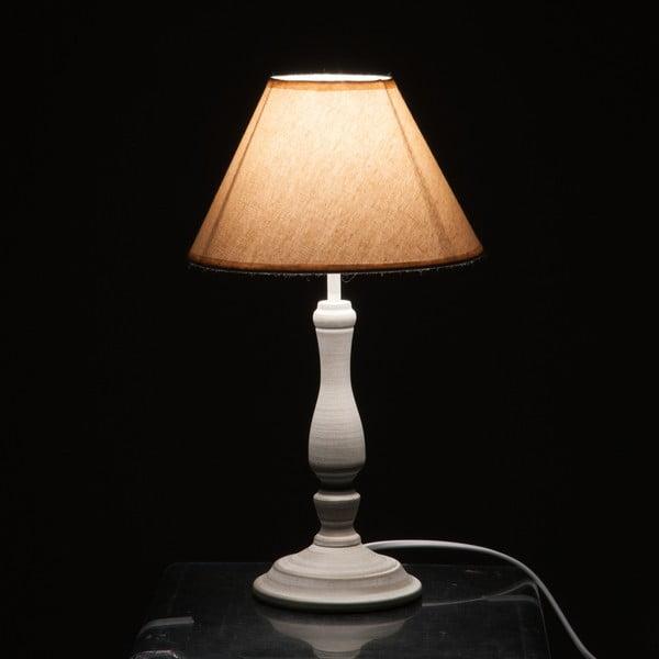 Stolní lampa Jolipa 39 cm, béžová