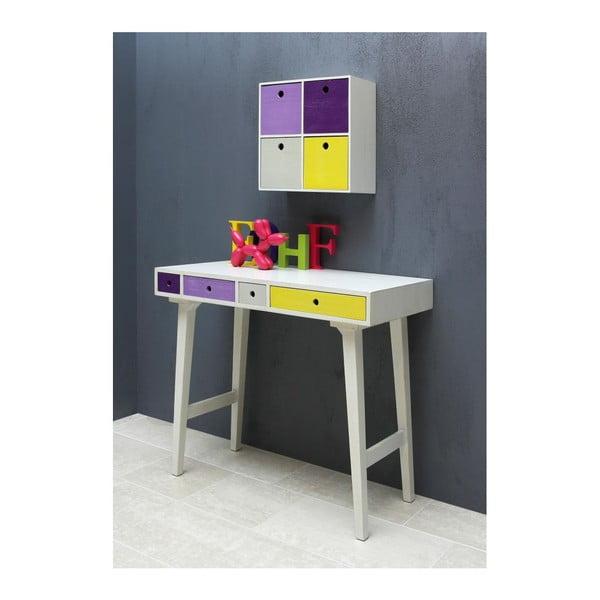 Pracovní stůl Octopus, lila