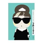 Plakát I want to be like Audrey