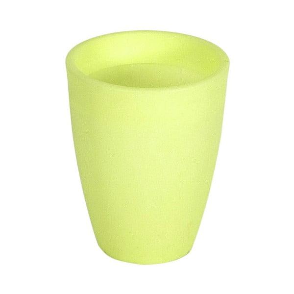 Fluorescenční váza Orchidea 14 cm, zelená