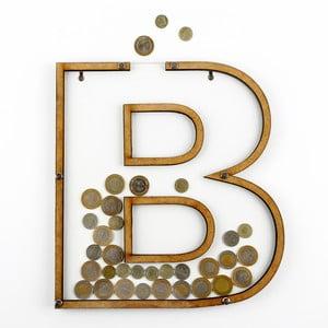 Dekorativní rámeček/kasička s plexisklem B