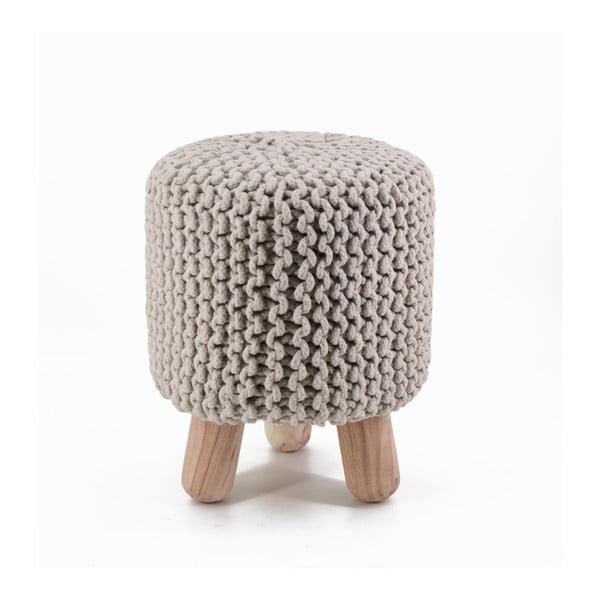 Stolička s háčkováním Moycor Natural, vysoká
