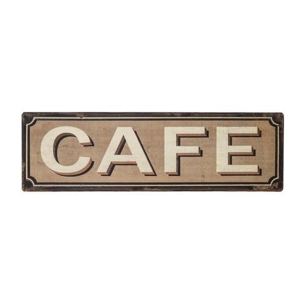 Plechová cedule Antic Line Cafe