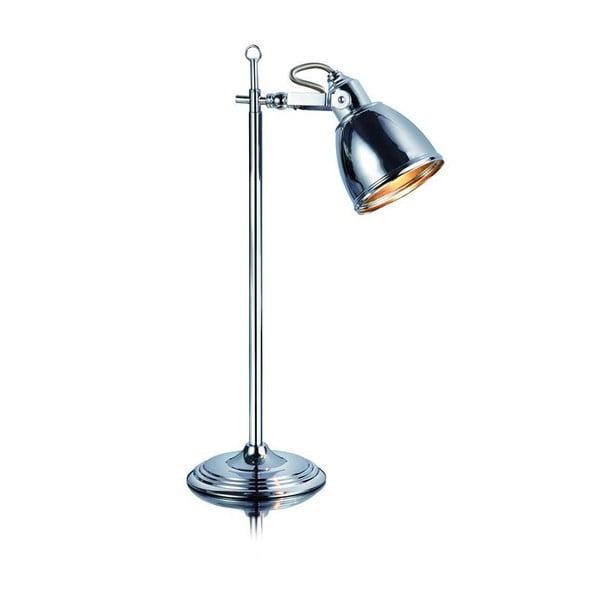 Stolní lampa ve stříbrné barvě Markslöjd Fjallbacka