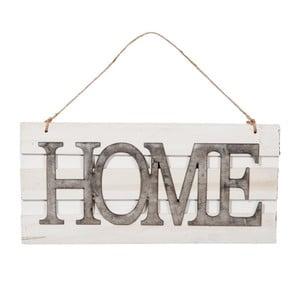 Dekorativní závěsný nápis Home, 40 cm