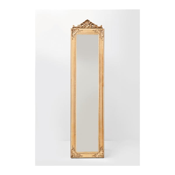 Stojací zrcadlo ve zlaté barvě Kare Design Baroque