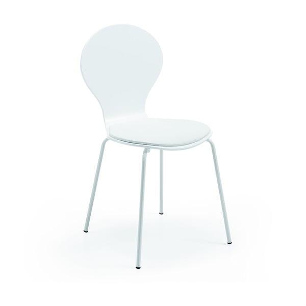 Židle Jazz, bílá