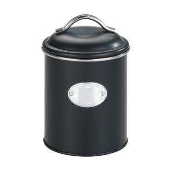 Cutie pentru depozitare cu închidere etanșă Wenko Nero, negru,1 l imagine