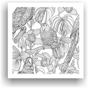 Obraz k vymalování Color It no. 32, 50x50 cm
