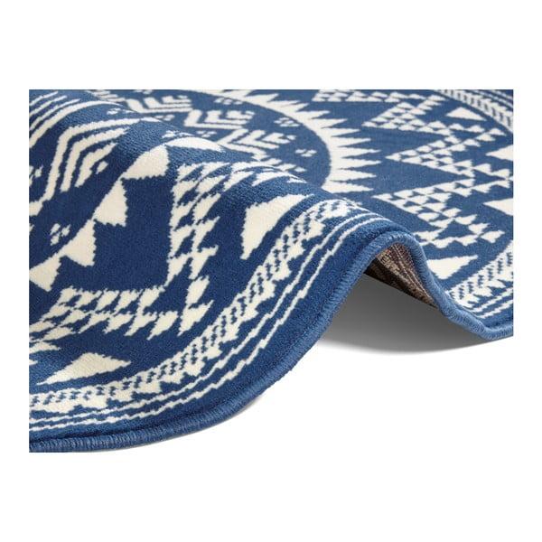 Modrý koberec Hanse Home Celebration, ⌀ 140 cm