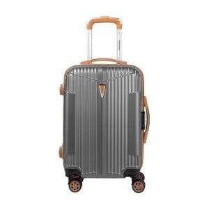 Šedé kabinové zavazadlo na kolečkách Murano Sympathy